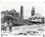 Union Station after 1921 flood.